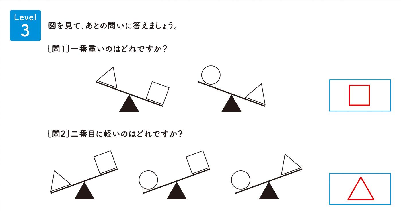 パズル道場チラシ掲載問題の解答