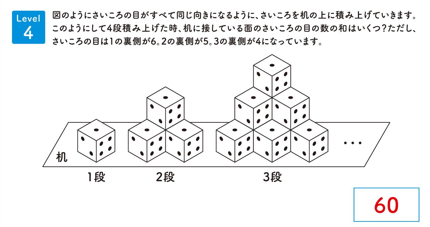 パズル道場チラシ掲載問題4の解答