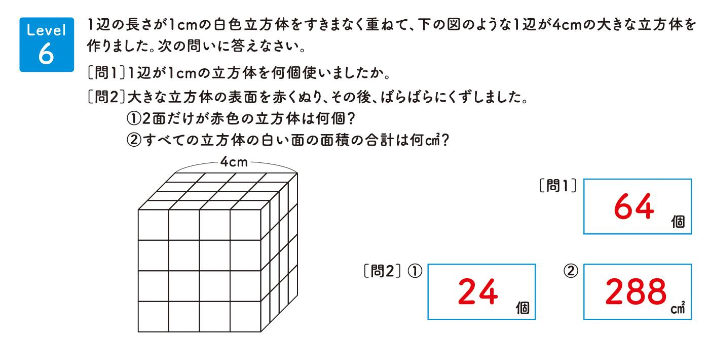 パズル道場チラシ掲載問題6の解答